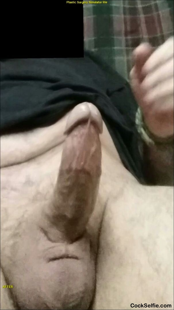 Someone sit on this - Cock Selfie