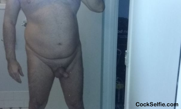 Sexy Old Body - Cock Selfie