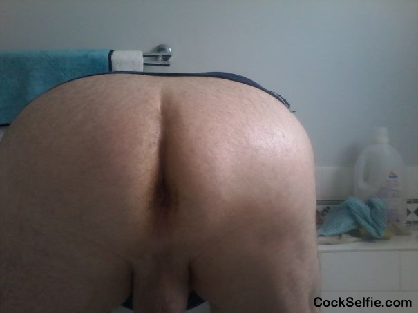 Stick Your Sausage In.Now. - Cock Selfie
