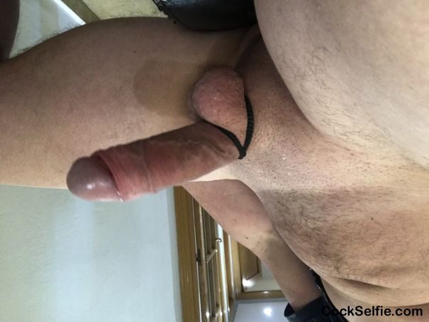 Thinking of dirty angel - Cock Selfie