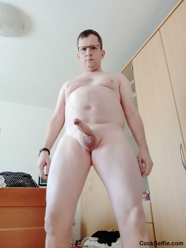 Nackt zu hause foto