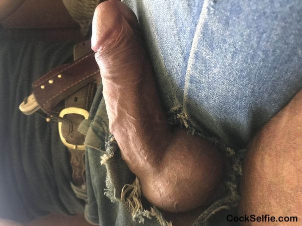 My balls cant take it any more - Cock Selfie