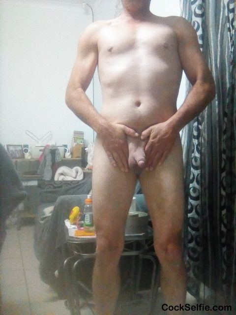 Who want this naked body - Cock Selfie