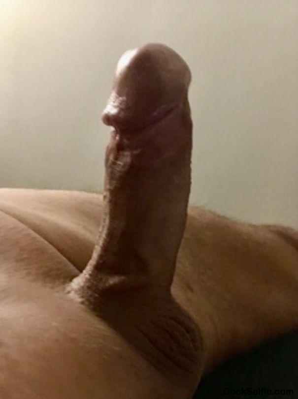 Clean shave - Cock Selfie