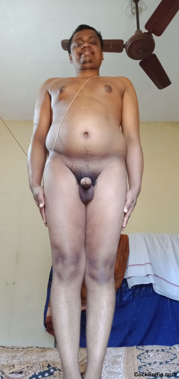 Naked Indian boy - Cock Selfie